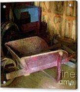 The Red Wheelbarrow Acrylic Print