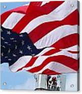 The Red White And Blue Acrylic Print