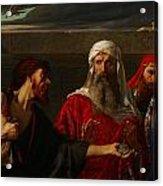 The Remorse Of Judas Acrylic Print