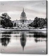 The Republic Awakens Bw Acrylic Print