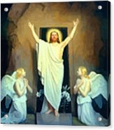 The Resurrection Of Christ By Carl Heinrich Bloch  Acrylic Print