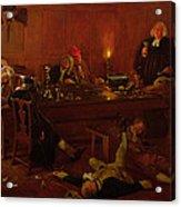 The Reverend Geoffrey Shovel, Chaplain Acrylic Print