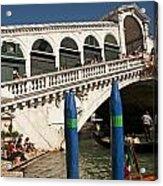 The Rialto Bridge Of Venice Acrylic Print