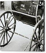 The Rickshaw Acrylic Print