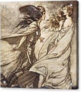 The Ring Upon Thy Hand - ..ah Acrylic Print