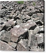 The Ringing Rocks Of Bucks County Acrylic Print