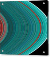 The Rings Of Saturn Acrylic Print