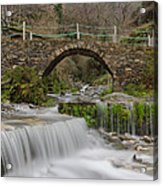 The River And The Village Acrylic Print