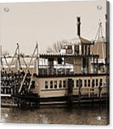 The River Lady Toms River New Jersey Acrylic Print