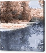 The River - Near Infrared Acrylic Print