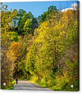 The River Road Acrylic Print