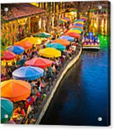 The Riverwalk Acrylic Print by Inge Johnsson