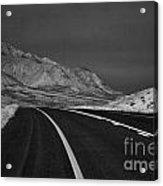 The Road Ahead-infrared Acrylic Print
