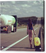 The Road.... Acrylic Print