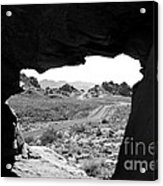 The Road Beyond Cave Acrylic Print