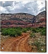 The Road To Possibilities Acrylic Print