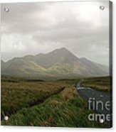 The Road To Tully Cross Acrylic Print