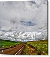 The Road To Where Acrylic Print
