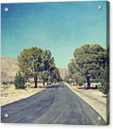 The Roads We Travel Acrylic Print