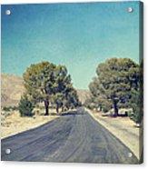 The Roads We Travel Acrylic Print