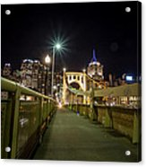The Roberto Clemente Bridge Acrylic Print