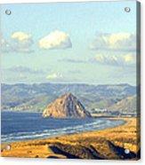 The Rock At Morro Bay Acrylic Print