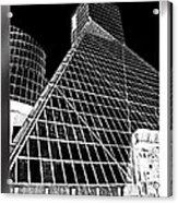 The Rock Hall Cleveland Acrylic Print by Kenneth Krolikowski