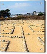 The Rock Maze Santa Barbara Acrylic Print