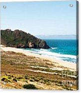 The Rock Of Piedras Blancas Lighthouse In San Simeon Ca Acrylic Print