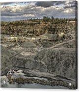 The Rock Quarry Acrylic Print