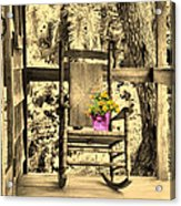 The Rocking Chair Acrylic Print