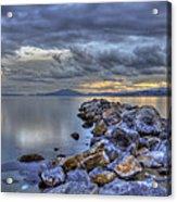 The Rocks Acrylic Print by George Leontaras