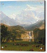 The Rocky Mountains Landers Peak Acrylic Print