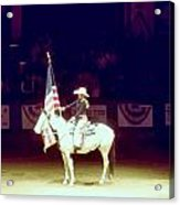 The Rodeo  Acrylic Print