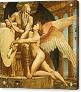 The Roll Of Fate Acrylic Print by Walter Crane
