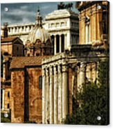 The Roman Forum 2 Acrylic Print