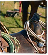 The Ropin Rig Acrylic Print