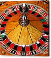 The Roulette Wheel Acrylic Print
