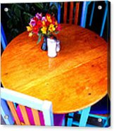 The Round Table Acrylic Print