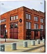 The Roundhouse Evanston Wyoming - 1 Acrylic Print