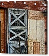 The Roundhouse Evanston Wyoming - 2 Acrylic Print