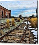 The Roundhouse Evanston Wyoming - 5 Acrylic Print