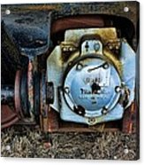 The Roundhouse Evanston Wyoming Dining Car - 3 Acrylic Print