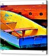 The Row Boat Acrylic Print