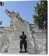 The Royal Artillery War Memorial By Charles Sargeant Jagger And Lionel Pearson In London England Acrylic Print