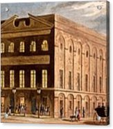 The Royal Couborg Theatre, 1826 Acrylic Print