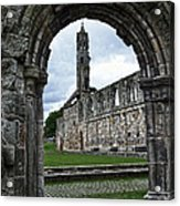The Ruins Of St Andrews Cathedral Acrylic Print