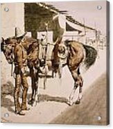 The Rural Guard Mexico Acrylic Print