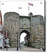 The Rye Landgate  Acrylic Print