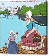 The Sacramento River Acrylic Print